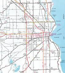 Usa Interstate Map by Interstate Guide Interstate 894 Wisconsin