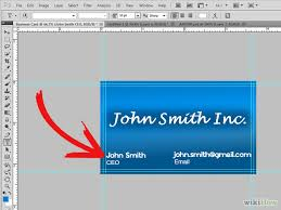 How To Do Business Cards How To Create A Business Card Using Photoshop Aarongtv U0027s Toolkit