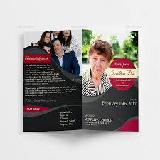 funeral program design funeral program templates combo set by creativesource online