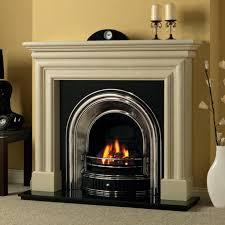 incredible savings cast tec anson half polish fireplace insert