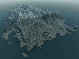 Map Size Comparison The Smaller Size Of Solstheim In Skyrim As Compared To Morrowind