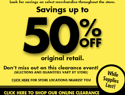 Bed Bath Beyond In Store Coupon Bed Bath U0026 Beyond 50 Off Clearance Items In Store U0026 Online