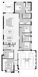Elevated Bungalow House Plans Raised House Plans Modern Ranch Floor Plan Of Kitchen Layout