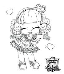 bratz doll coloring pictures pages cute source bratz doll