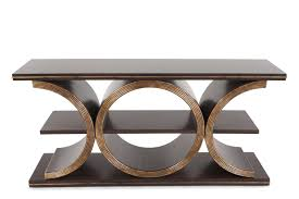 hooker sofa tables hooker melange presidio console table mathis brothers furniture