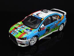 mitsubishi rally car ixo ram537 1 43 mitsubishi lancer evo x no 0 geko ypres rally 2013 b d