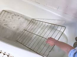 cleaning oven racks in the bathtub hometalk