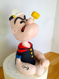 popeye the sailor popeye the sailor man cake topper byrdie custom cakes