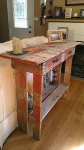 Back Of Couch Table Diy Pallet Entryway Couch Back Table Wooden Pallet Furniture