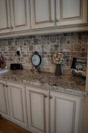 best 25 glazed kitchen cabinets ideas on pinterest how to cabinets refinished to a custom off white finish with heavy glaze love the cabinet color back splash and counter tops great match