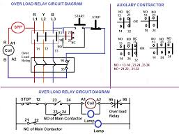 over load relay u0026 contactor for starter electrical notes u0026 articles