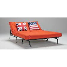 canapé convertible orange canapés lits bz convertibles innovation canapé lit bz skater