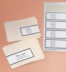 wedding invitations return address beautiful diy ideas for your wedding avery