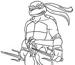 turtles coloring pages free