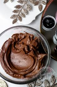 how to make black buttercream icing for chic edgy treats