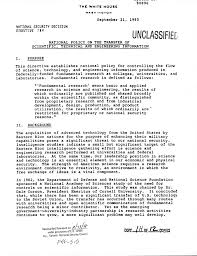 Bill Of Sale For Vehicle In Texas by Nsdd 189 National Policy On Transfer Of Scientific Technical And