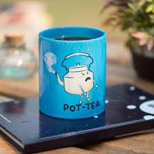 buy pot tea potty mug 300ml microwave safe ceramic mug online at