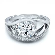 custom weddings rings images Custom design genuine diamond wedding rings wedding ideas jpg