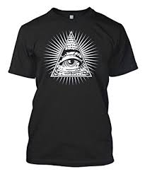 amazon com eye of providence all seeing eye s t shirt clothing