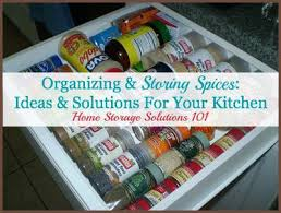 Home Storage Solutions 101 Organized Home Organizing U0026 Storing Spices Ideas U0026 Solutions For Your Kitchen