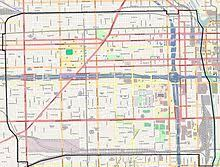 chicago map side near west side chicago