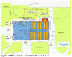 Kennel Floor Plans by Sandown Begins Kennel Upgrade Sandown