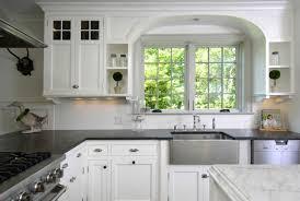 kitchen white cabinets dark countertops give your kitchen fresh