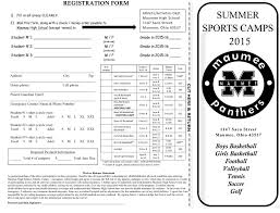 thanksgiving basketball camp welcome to maumee city schools