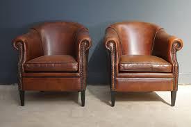 Club Chair Picture 15 Of 44 Brown Leather Club Chair Unique Vintage Cognac