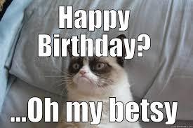 Grumpy Cat Meme Happy Birthday - grumpy cat memes quickmeme