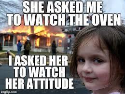 Girl Meme - house on fire selfie girl i flipped out