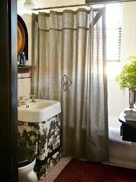 Custom Shower Curtains Custom Shower Curtains Bathroom Traditional With Antique Portrait