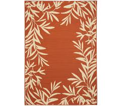 Rugs Indoor Outdoor by Tommy Bahama 5x7 Indoor Outdoor Fern Rug Page 1 U2014 Qvc Com