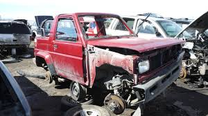 daihatsu rocky junkyard find 1990 daihatsu rocky the truth about cars