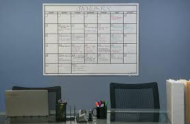 Wall Calendar Organizer System Amazon Com Officeaid Laminated Jumbo Dry Erase Wall Calendar 36