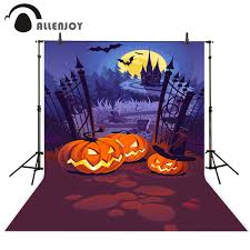 halloween tombstones on a black background online get cheap halloween castle background aliexpress com