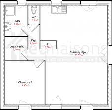 plan plain pied 2 chambres plan maison 2 chambres frais élégant plan maison plain pied 2