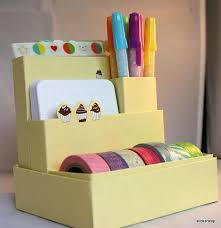 Yellow Desk Organizer 44 Best Desk Organization Images On Pinterest Desk Organization