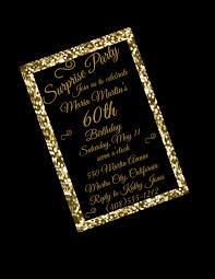 60th birthday invitation 60th birthday party 60th surprise