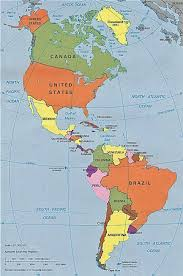 South And Central America Map by Political Map Of South And Central America Inside Roundtripticket Me