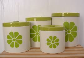 Vintage Kitchen Canister Set by 28 Green Kitchen Canisters Sets Cute Green Polka Dot