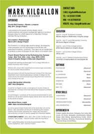 Resume Website Examples by Resume Design Ideas Like The Vertical Listing The Rest Is Too