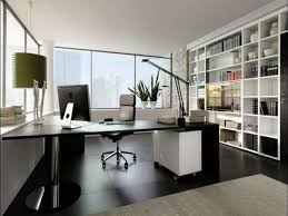 Design Tips For Your Home Office Modern Home Office Design With L Shape Black Computer