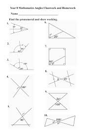 geometry angle worksheets time activity sheets area perimeter