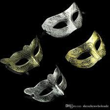 silver mask costume party mask men s retro greco gladiator masquerade