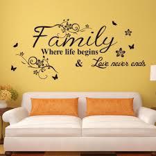 Home Decor Vinyl Wall Art by Sticker On Wall Decor Vinyl Wall Art Decal Decor Quote Stickers