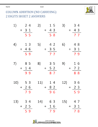 addition worksheet without regrouping solving ratios worksheet