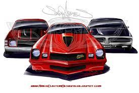 chip foose camaro sam ames 1971 chevelle 1978 camaro z28 1973 charger tripple threat