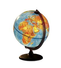 earth globes that light up amazon com electric illuminated orion relief world globe detailed