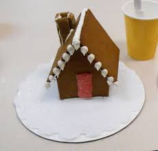 mini gingerbread house pattern just shy of perfection